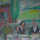 """Lunch at the Trattoria"", 2008"