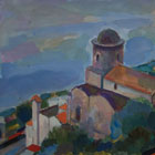 """Ravello. A church at the Hillside"", 2006"