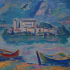 """Boats at the Orta Island"", 2006"